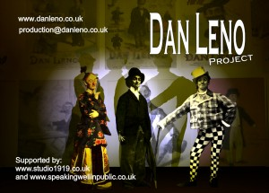 Voice-over by Philippa Hammond: The Dan Leno Project
