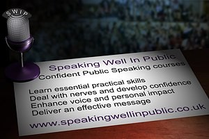 Confident Public Speaking Courses Spring 2016