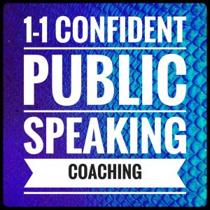 Private 1-1 public speaking coaching in Brighton