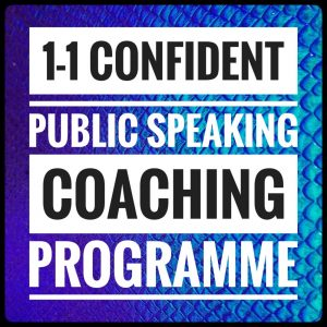 Professional Public Speaking 1-1 coaching Brighton & beyond