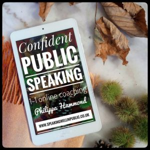 1-1: Learn Public Speaking with online coaching