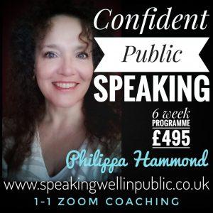 Confident Public Speaking 1-1 Programmes